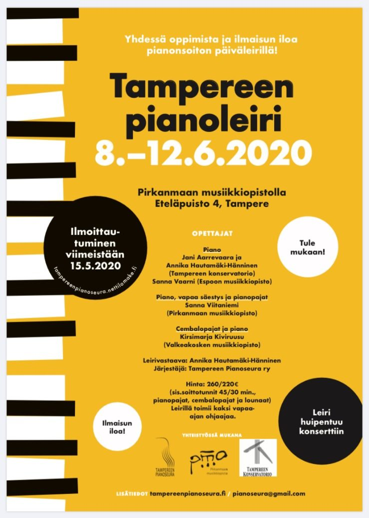 Tampere - 8-12 - 06 - 2020